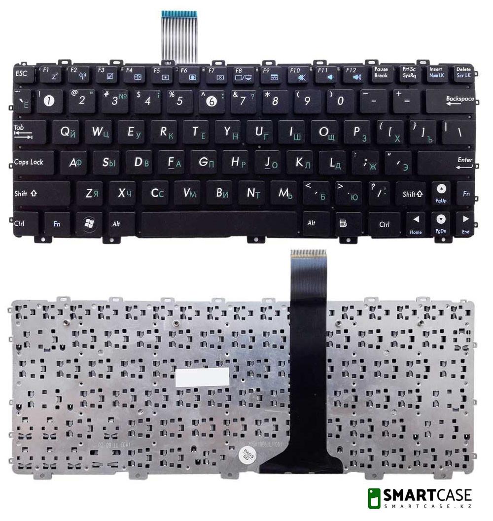 Клавиатура для ноутбука Asus EEE PC 1015BX (черная, ENG)
