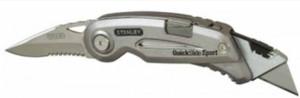 """Нож Stanley с 2-мя лезвиями """"QuickSlide Sport Utility Knife"""", длина 120 мм"""