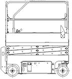 Самоходный ножничный электрический подъемник CMJC0408M, фото 9