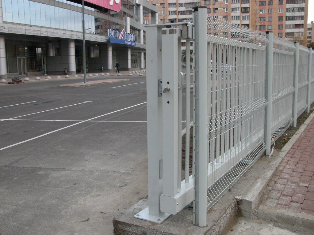 Откатные ворота консольного типа