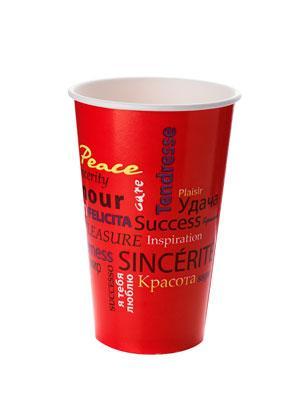 Стакан бумажный Fiesta для хол. напитков, 400мл