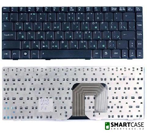 Клавиатура для ноутбука Asus F9 (черная, RU)