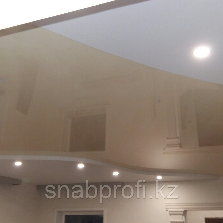 Натяжные потолки без швов