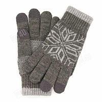 Умные зимние перчатки Xiaomi - серые (для работы с сенсорным экраном