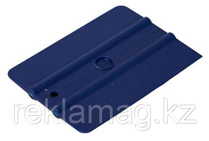 Шпатель синий полужёсткий (35%) прямоугольный