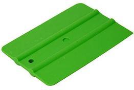 Шпатель зелёный мягкий (30%) прямоугольный