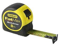 """Рулетка измерительная Stanley """"FatMax Blade Armor"""", 8 м."""