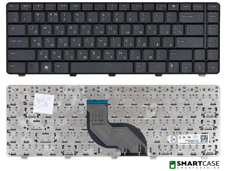 Клавиатура для ноутбука Dell Inspiron 14R (черная, RU)
