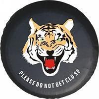 Чехол для запасного колеса Тигр