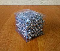 Бусы на елку - серебро, фото 1