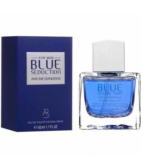 Туалетная вода-спрей мужская Blue Seduction Man от Antonio Banderas