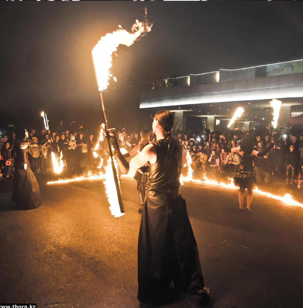 Full Огненное Пиротехническое шоу Kashmir - 6 человек