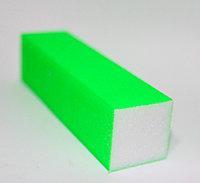 Брусок шлифовальный 4-х сторонний, зеленый, фото 1