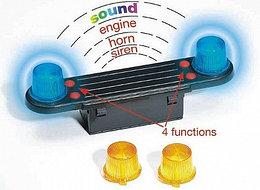 Bruder. Модуль со световыми и звуковыми эффектами для автомобилей