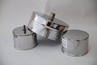 """Заглушка с конденсатоотводом """"Sferra"""" d115 (нерж. 0,5мм)"""