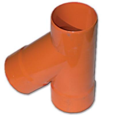 DKC Тройник для двустенных труб,45 ,полипропилен,д.63 - фото 1