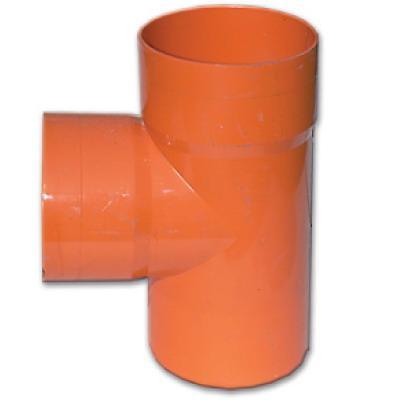 DKC Тройник для двустенных труб,90 ,полипропилен,д.125 - фото 1