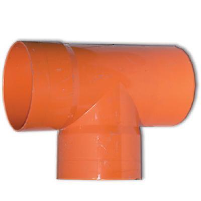 DKC Тройник для двустенных труб,90 ,полипропилен,д.125 - фото 2