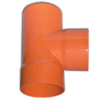 DKC Тройник для двустенных труб,90 ,полипропилен,д.125 - фото 3