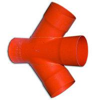 DKC Соединение для четырех двустенных труб,45 ,полипропилен,д.140, фото 1