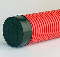 DKC Заглушка для двустенных труб,наружная,полипропилен, д.63, фото 1