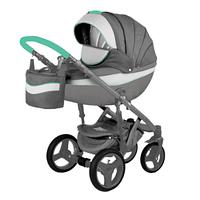 Детская универсальная коляска Adamex Monte Carbon Deluxe 2в1 (D2)