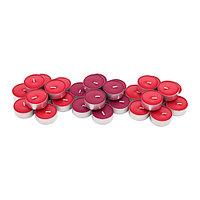 Свеча греющая ароматическая Синлиг, Красные садовые ягоды, 30 шт.