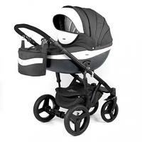 Детская универсальная коляска Adamex Monte Carbon Deluxe 3в1 (D6), фото 1