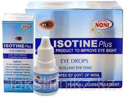 ISOTINE ПЛЮС Eye Drop - глазные капли от многих глазных заболеваний.