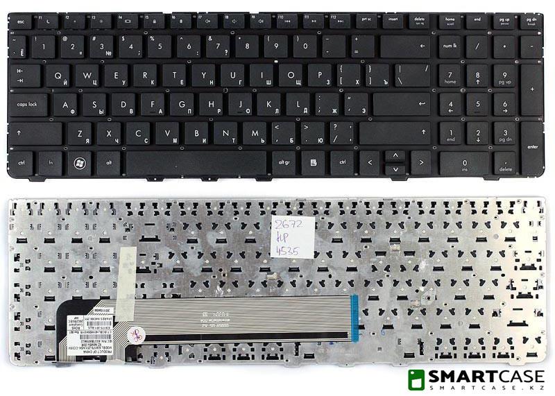 Клавиатура для ноутбука HP ProBook 4530S (черная, RU)