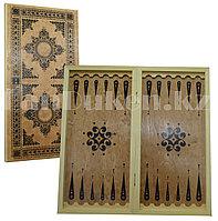 Настольная игра деревянные нарды 60х30 см