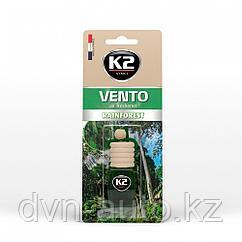 """Ароматизатор K2 """"VENTO"""" флакон с деревянной крышкой (хвойный лес)"""