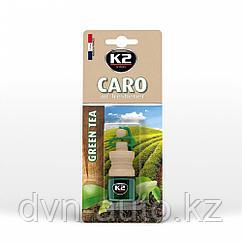 """Ароматизатор K2 """"VENTO"""" флакон с деревянной крышкой (зеленый чай)"""