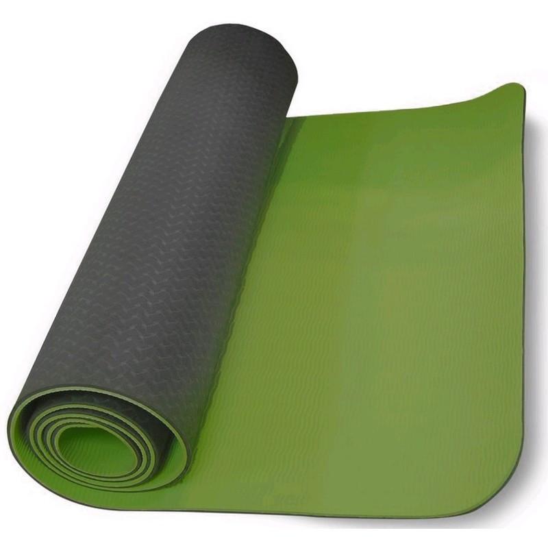 Коврики для йоги (61х183х0.6 см) TPE, с чехлом - фото 3