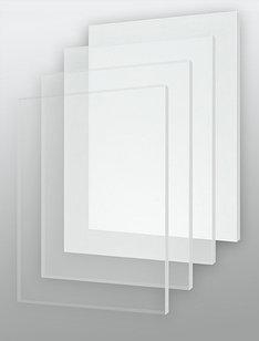 Оргстекло прозрачное/матовое 4мм. (1,22м х 2,44м)