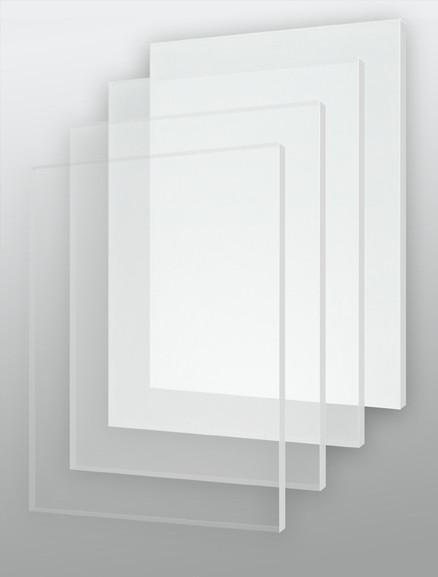 Оргстекло прозрачное/матовое 9мм. (1,22м х 2,44м)