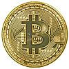 Сувенирная монета Bitcoin (Биткоин)