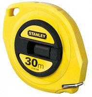 """Рулетка измерительная длинная """"Stanley ABS"""" со стальной лентой с закрытым корпусом, длина 30 м."""