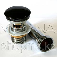 Донный клапан Melana T201B черный   *