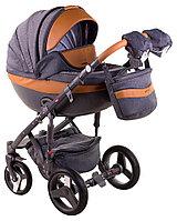 Детская универсальная коляска Adamex Monte Carbon Deluxe 3в1 (D20), фото 1