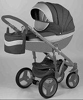 Детская универсальная коляска Adamex Monte Carbon Deluxe 3в1 (D23), фото 1