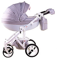 Детская универсальная коляска Adamex Monte Carbon Deluxe 3в1 (D27), фото 1