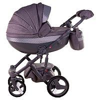 Детская универсальная коляска Adamex Monte Carbon Deluxe 3в1 (D28), фото 1