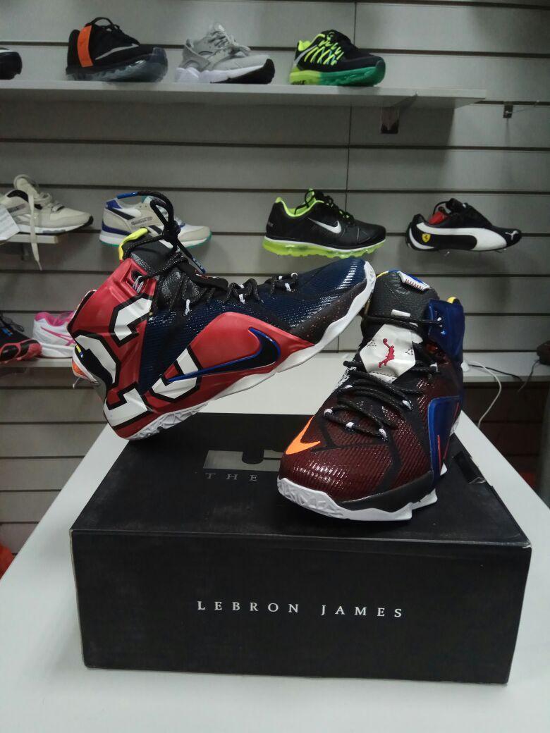 Баскетбольные кроссовки Nike Lebron XII (12) Wath