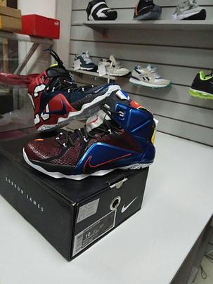Баскетбольные кроссовки Nike Lebron XII (12) Wath , фото 2