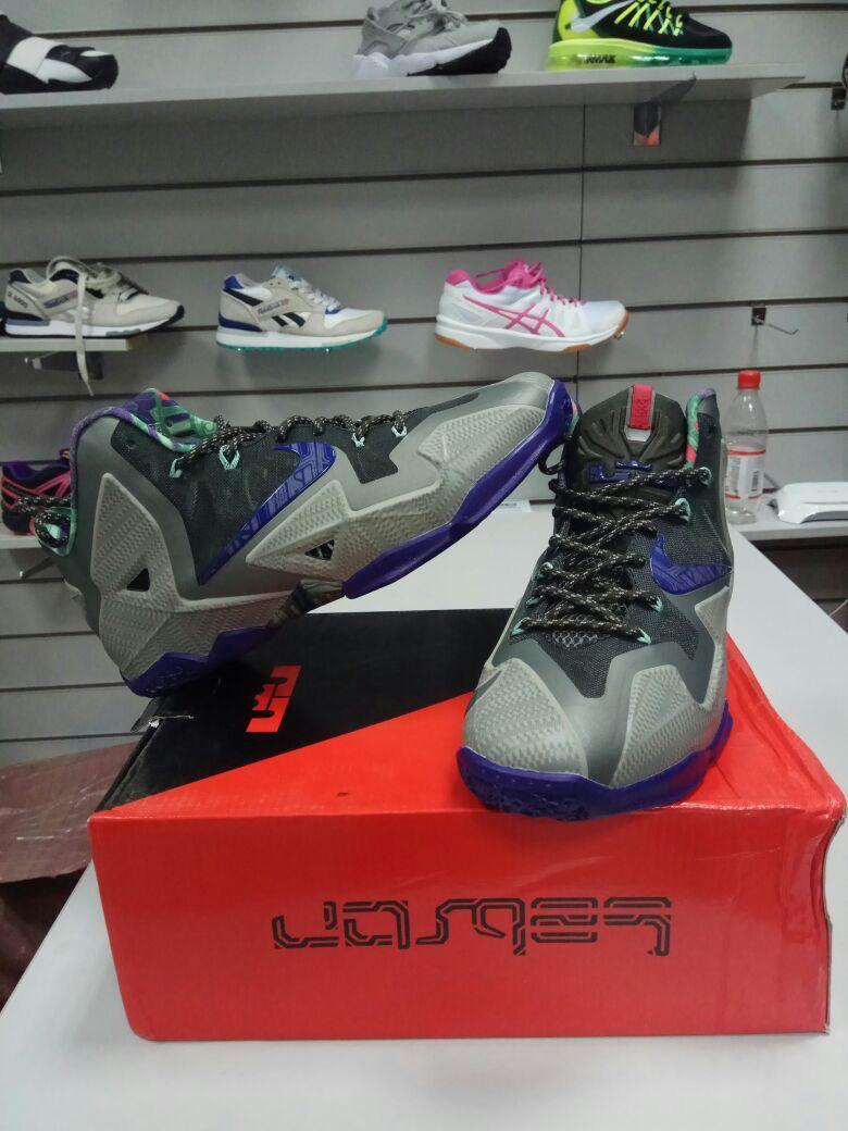 Баскетбольные кроссовки Nike Lebron 11 (XI) Terracotta Warrior