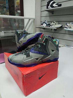 Баскетбольные кроссовки Nike Lebron 11 (XI) Terracotta Warrior, фото 2