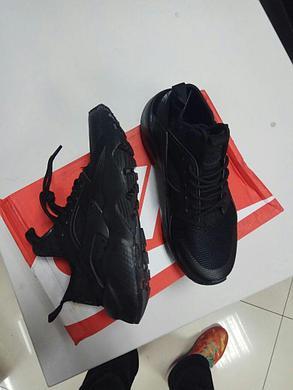 Кроссовки Nike Air Huarache черные, фото 2