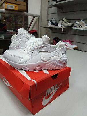 Кроссовки Nike Air Huarache белые, фото 2