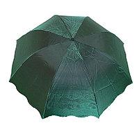 """Складной женский зонт с системой """"антиветер"""", зелёный, фото 1"""